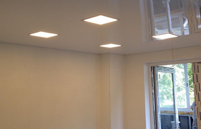 Светильники квадратной формы для потолка